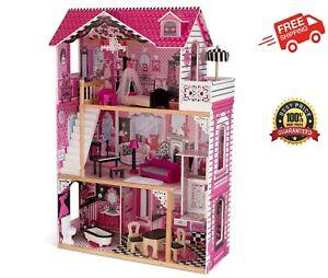 KidKraft Amelia 3 Storey Dollhouse / Kids Toy .1.2m .New .Free Ship