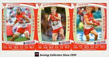 2011 AFL Teamcoach Trading Cards Prize Card Team Set Sydney (3)