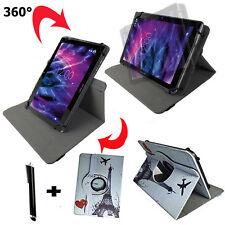 10  zoll Tablet Tasche - Asus Transformer Pad TF700 Etui - 360° Paris Motiv 10