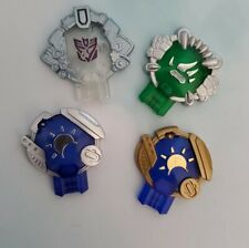 4 Transformers Cybertron Earth Cyber Planet Key accessory lot Hasbro Replacement