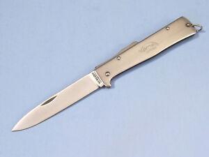 """OTTER-Messer MERCATOR 10826R stainless lockback knife 4 3/8"""" closed Germany NEW!"""