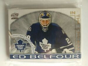 2004-05 Pacific In The Crease Complete Hockey Set (1-10) Brodeur Belfour