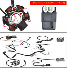 Wiring Harness kit Magnetic Coil Wire Loom Assembly For GY6 125cc 150CC ATV QUAD
