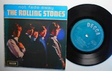 """7"""" EP; the Rolling Stones   not fade away"""