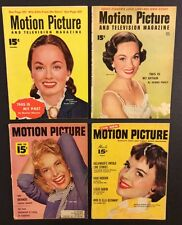 4 MOTION PICTURE & TV Magazine MARILYN MONROE 1952 Ann Blyth JANET LEIGH Fawcett