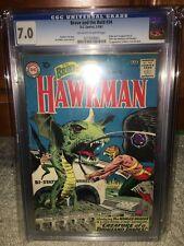 Brave and the Bold #34 CGC 7.0 DC 1961 1st Silver Hawkman! JLA! E11 213 cm clean