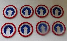 AMERICAN US ARMY MILITARY PATCHES WWII LOT OF 8