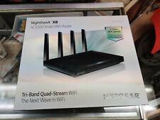 Netgear Nighthawk X8 AC5300 5.3 Gbps Tri Band Quad Stream WiFi Wireless Router