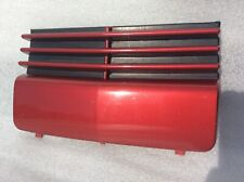 CADILLAC DEVILLE DTS FRONT LICENSE PLATE BLOCK OFF COVER  2000-2005 RED
