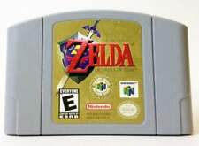 Legend of Zelda Ocarina of Time  Nintendo N64 Authentic  Tested & Working CDN !!