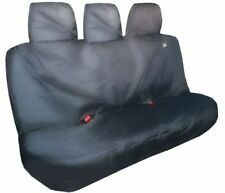 Heavy Duty Seat Cover Ford Ranger Triple Rear (2012+) - Black - FRRBLK-611
