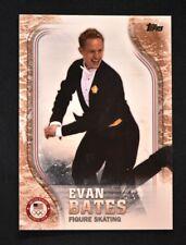 2018 Topps US Winter Olympics Bronze #USA-45 Evan Bates