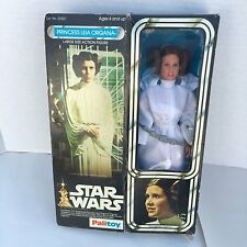 """Star Wars Vintage Palitoy 12"""" Princess Leia 1977 Mint Figure In the Box"""