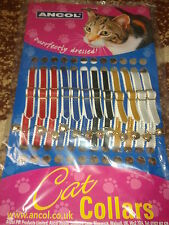 Single Ancol Cat Collar available in 5 colours