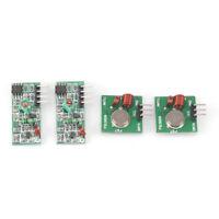2Stücke 433 Mhz Wireless RF Sender Modul Empfänger Alarm Regeneration Arduino QP