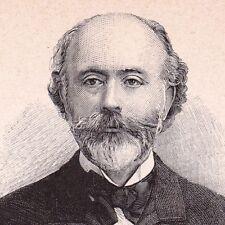 Portrait Charles-Paul Renouard Courcheverny Loir et Cher Peinture Graveur