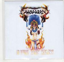 (GF690) Unforeseen Prophecy, Burn The Skies - DJ CD