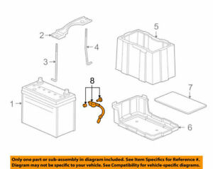 32600SEAE00 Acura OEM 04-08 TSX Battery-Negative Cable