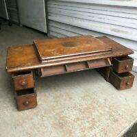 VINTAGE Singer Treadle Sewing Machine 5 Drawer Wood Cabinet