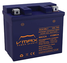 VMAX XCA100L7 ATV NANO GEL BATTERY UPGRADE Yamaha 450cc YFZ450R X 2009-2017 12V