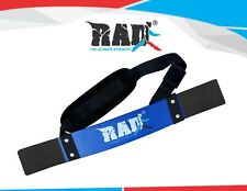 RAD New Arm Blaster Body Building Bomber Bicep Curl Triceps Muscle Builder Blue