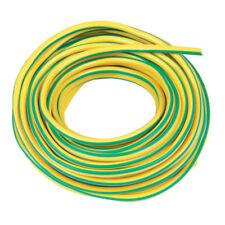 Jaune/vert Terre de gaine, 5 mètres, gaine en PVC, terre de manches, 3 mm