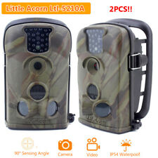 2pcs 12MP Little Acorn Ltl-5210A Hunting Scouting Trail Camera Wildlife Security