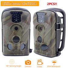 2pcs 12MP Little Acorn Ltl-5210A Hunting Trail Camera Wildlife Security Cam PRO