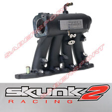 SKUNK2 BLACK PRO INTAKE MANIFOLD + TB FOR 99-00 CIVIC Si /97-01 INTEGRA TYPE R