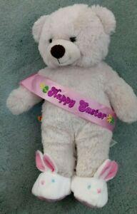 "Build a Bear HOPPY easter bear Plush Stuffed Animal 15"" w/birth certificate"