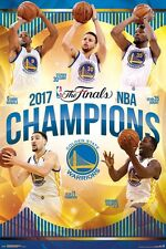 GOLDEN STATE WARRIORS - 2017 NBA CHAMPIONS - POSTER 24x36 - 15148