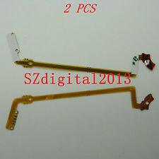 2PCS/lente del obturador Flex Cable para Sony DSC-S500 Benq E43 E53 Sanyo VPC-S600