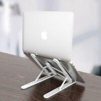 Adjustable Foldable Laptop Stand Desk Portable Notebook Riser Computer Holder US