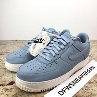 Nike NikeLab Air Force 1 Low Mens 13 Blue Grey PRM Lab 905618-400 No Lid
