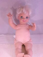 "Mattel Cuddly Baby Doll Kelly  Soft Body 18"" Washable No Clothes TM / 1994 China"