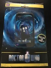 Doctor Who iPhone 4 Tardis Blue Snap Case Official BBC Merchandise