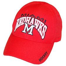 Miami RedHawks Hockey Top of the World Red Klozer Adjustable Cap