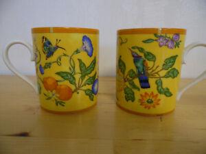 2 Hermes Kaffeebecher Tasse La Siesta mit Chips - Kaffeetassen