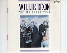 CDWILLIE DIXONthe big three trio1990 VG++ (R2887)