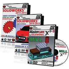MASTERCAM X8-X9 For SOLIDWORKS - MILL & SOLIDWORKS 2014-2015 Video Tutorial