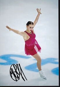 KUCHVALSKA Angelina - LAT - Figure Skating - Photo signed