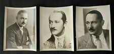 "Vintage 1930 Hollywood Actor Norman Kerry ""Bachelor Apartment"" Photos  (3pcs)"
