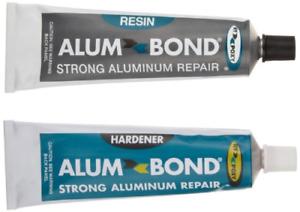 Hy-Poxy H-450 Alumbond 6.5 oz Aluminum Putty Repair Kit