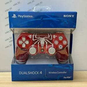 Sony Playstation PS4 Dualshock 4 Controller -- Spider Man Red