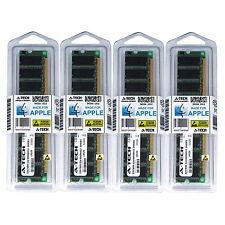 4GB Kit 4x 1GB PC3200 APPLE XSERVE G5 M9745LL/A M9742LL/A M9742LL/A Memory RAM