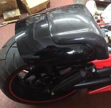Harley VRod Muscle Fender Soziusabdeckung Sitz GFK V-Rod