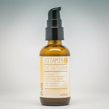 VITAMIN C 30% + E in PURE HYALURONIC ACID AntiAging Serum 2.2oz- Double Strength