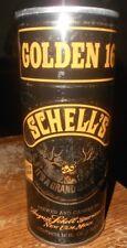 16 oz. empty schells golden 16 metal pull tab beer can good used #2