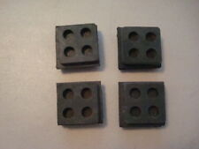 "Isolation Pads, anti vibration pads 2""x2""x3/4"" all rubber. Qty.8 each"