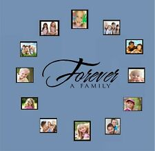 """Forever A Family Vinyl Wall Decal Décor 11"""" x 28"""""""